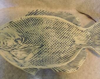 Fish Platter Ceramic