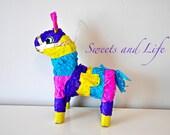 Colorful Mini Burrito Pinata; Pinata; Mini Donkey Pinata; Mini Pinata; Party Decorations; Dessert Table Decor; Pinata Decor; Mini Pinata