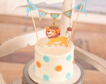 Lion King Royal Cake Topper