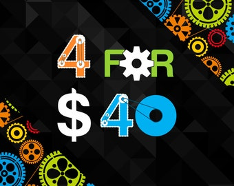 Buy Any Four 11x17 Posters from DreamMachinePrints for Only 40.00!