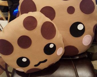 Chocolate Chip Cookie Plush Pillow