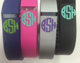 Fitbit Flex monograms set of 4