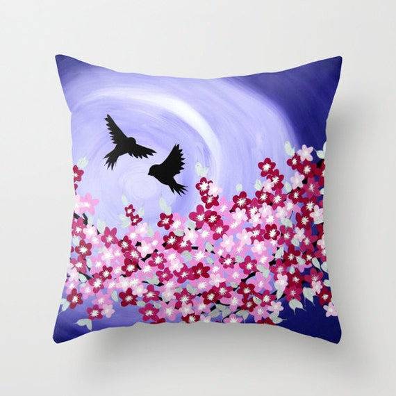 purple throw pillow case purple throw pillow cover purple