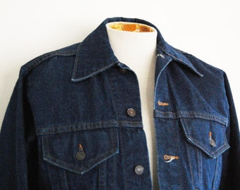 Vintage 1970's Denim Jean Jacket