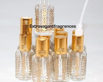 1 dozen 12ml empty perfume oil/essential oil bottles dipstick