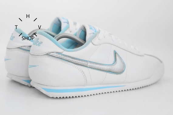 huge discount 3d9c0 eb5fb ... inexpensive nos vintage nike cortez tb sneakers vintage leather  trainers deadstock athletic shoes mens white sneakers