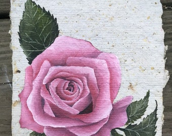 Rose Original Oil Painting