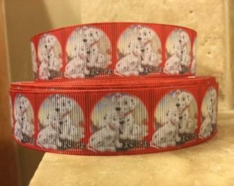 5 YDS 101 Dalmatians Puppies Ribbon