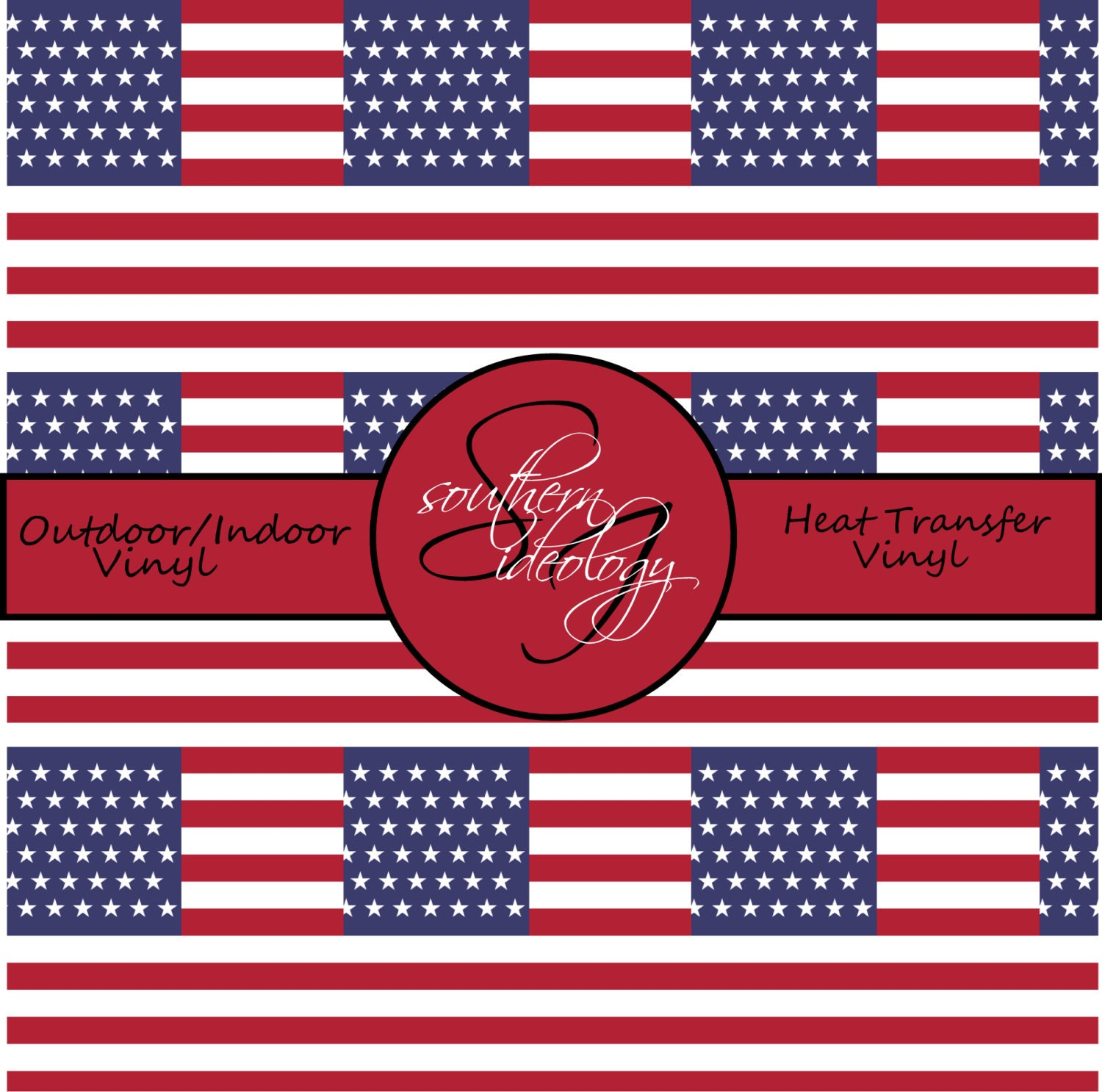 American Flag Craft Vinyl And Heat Transfer Vinyl