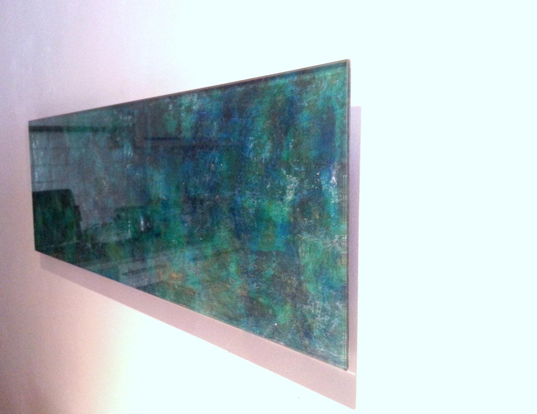 plexiglass acrylic glass wall art green jade bronze. Black Bedroom Furniture Sets. Home Design Ideas