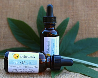 Skin Serum - our Dew Drops works wonders for all skin types. Pure oils make skin incredibly soft and may reduce wrinkles!