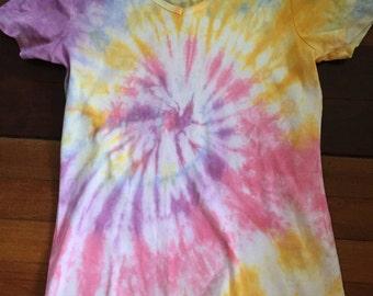 Size 14 Women'sTie Dyed  T-Shirt