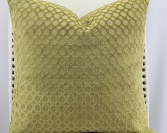 Designer velvet 16x16 pillow cover,accent pillow,throw pillow,decorative pillow,same fabric on front and back.