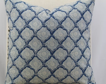 Designer pattern16x16-18x18-20x20, pillow cover, throw pillow,decorative pillow,accent pillow,same fabric front and back.