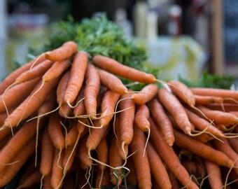 Food Photography - Carrot Print - Kitchen Art