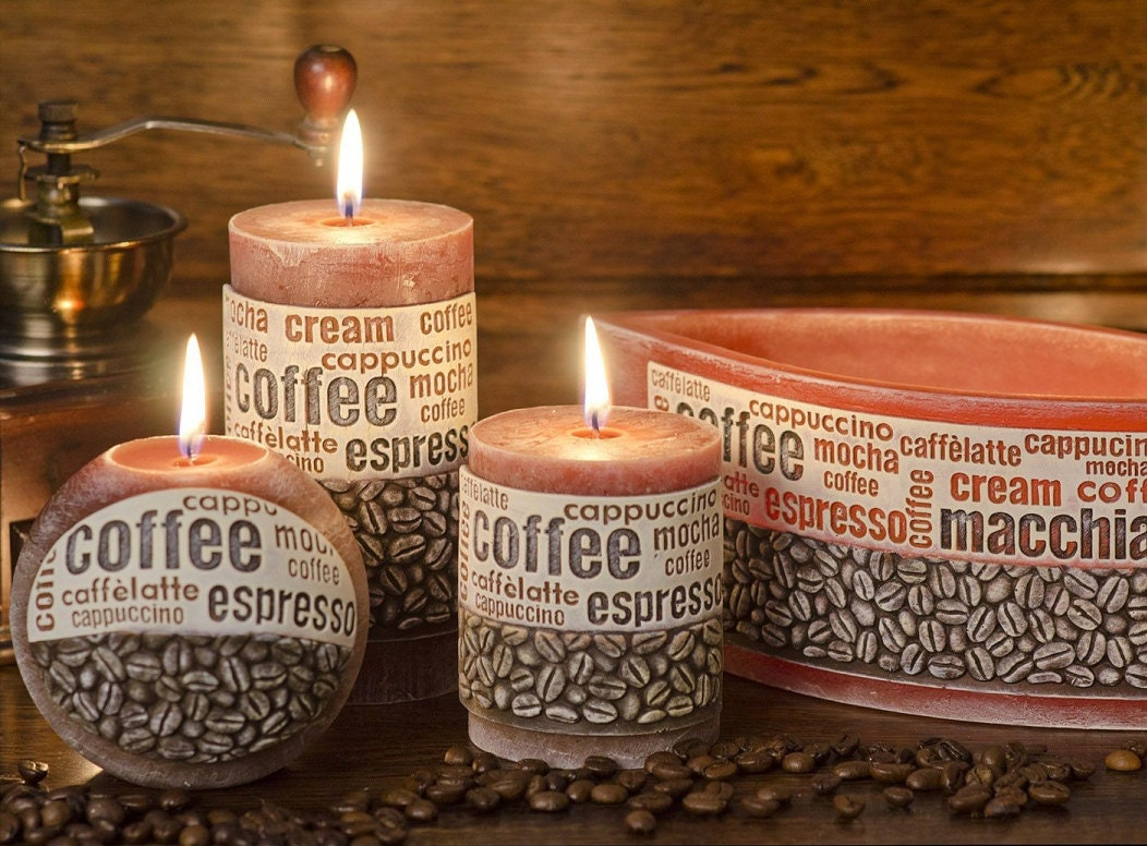 Coffee Candle Coffee Time Candle Set Scented candles