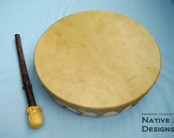 Hand Drum - Elk rawhide - 14 inch