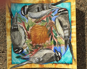 Woodpecker Mandala