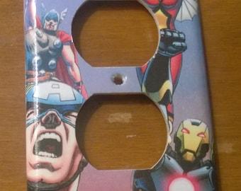 Avengers comic book superhero outlet cover