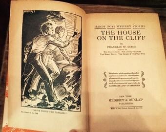 Vintage Hardy Boys #2 The House on the Cliff Hardbound Book 1927