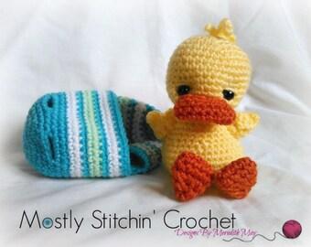 Easter Buddy-Ducky; CROCHET PATTERN; PDF