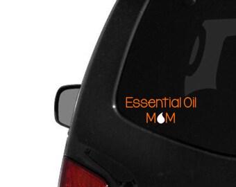 Essential Oil Mom Decal - Oily Mom Car Decal