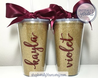 Personalized Florida State Tumbler, Gameday Cup, FSU Tumbler, Florida State Seminoles, Football Cup, Noles, Tailgate Tumbler, FSU Gift