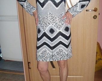 Crochet dress/ handmade women dress
