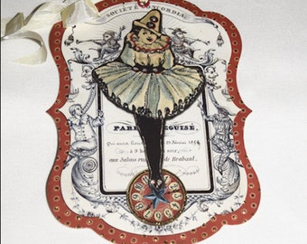 Zozo's Pargy No. 1 from F. G. and Co.- Pierrot / French Clown