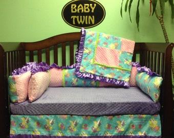 "4pc Standard Bedding Set "" Tinkerbell"""