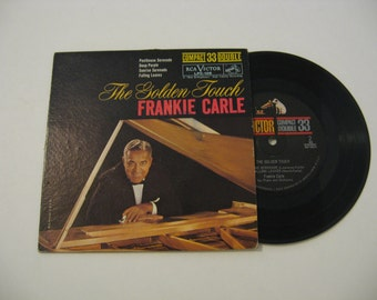 Rare! - Frankie Carle - The Golden Touch - 1961 - 7 Inch Vinyl  (33 Record)