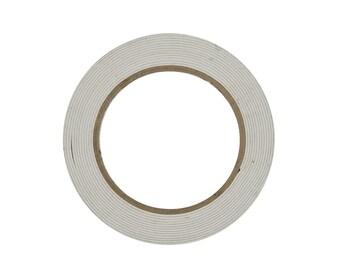 DOUBLE SIDED TAPE - Double Sided Tape Foam Tape  (18mm x 5 Metres)