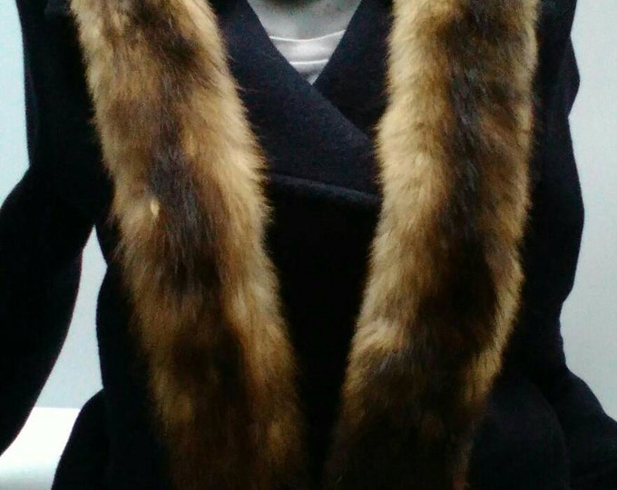 Vintage mink , mink fur, fur collar, wrap fur, mink fur 2 pelts, fur boa, taxidermy, full body, mink scarf, cape, wrap, winter warm fur