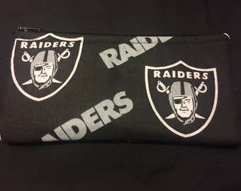Raiders Pencil Case / Zipper Pouch