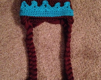 Crocheted Princess Crown and Braids