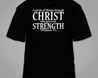 Philippians 4:13 T-Shirt.