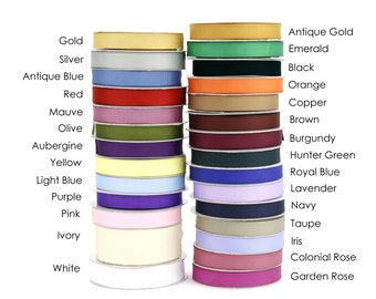 "Wholesale Grosgrain Ribbon - 7/8"" x 75 Feet - 28 Solid Color Options-Great for Hairbows, Scrapbooking, Crafts, Gift Wrap (EPGR2225-xx)"