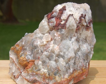Rainbow Calcite Crystal Large Specimen