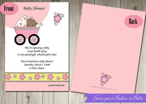 digital personalized baby shower invitations invitation card