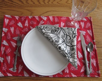 Valentine Place mats and Napkin set