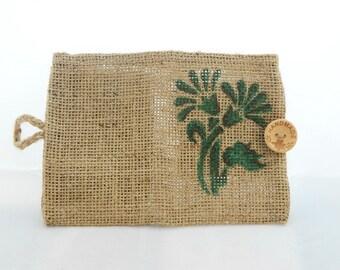 Wallet, Linen wallet, Flaxen wallet