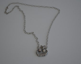 Oceanne with Pearl Pink necklace