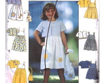 Simplicity Sewing Pattern 8544 Girl's Sundress, Jacket, Purse  Size:  BB  5-6-7-8  Uncut