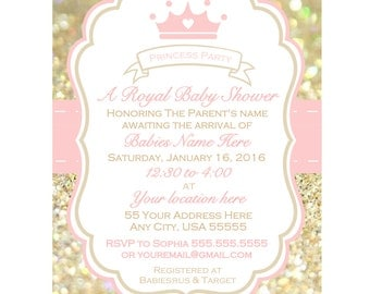printable girl baby shower invitation  etsy, Baby shower