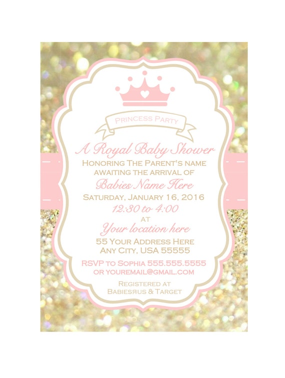 Printable girl baby shower invitation baby shower invite pink and il570xn filmwisefo