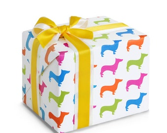 """10 sheets wrapping paper, Double Sided Printing, High quality paper for Gift Wrap  and Craft : Lovely Puppy 23"""" X 16.5"""" (59 cm X 42 cm)"""