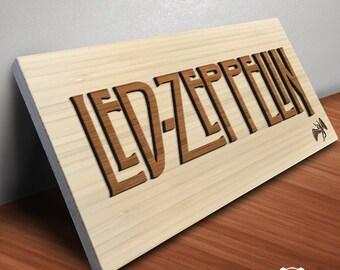 led zeppelin gifts etsy. Black Bedroom Furniture Sets. Home Design Ideas