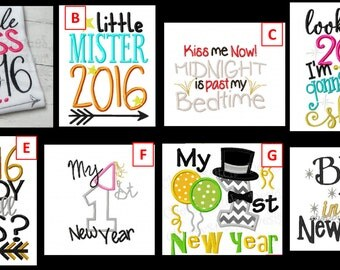 Ring in the New Year With These Adorable Shirts or Bodysuits!!!