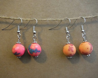 Spring Clay Earring Set of 2