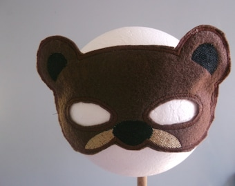Children's Play Bear Mask
